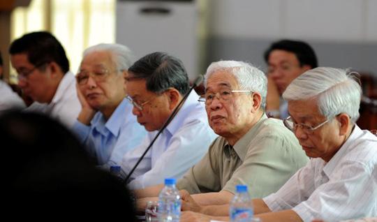 Các đại biểu tại hội nghị chiều 16-5