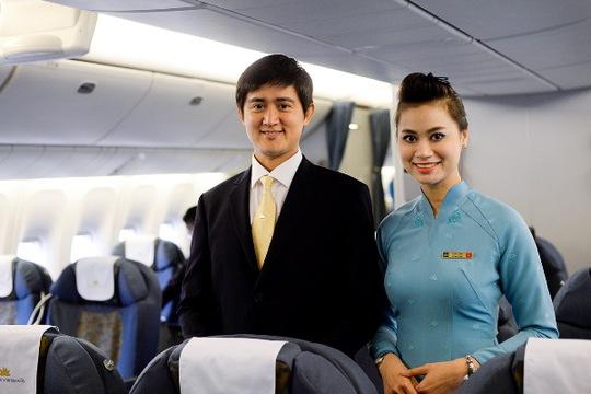 Đồng phục tiếp viên mới của Vietnam Airlines