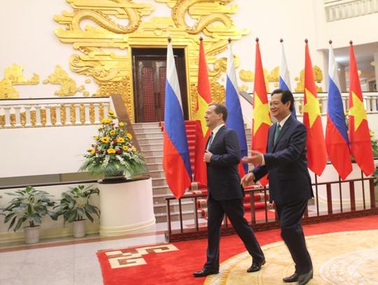 Hai Thủ tướng vào hội đàm, hứa hẹn đề cập đến nhiều ý tưởng mới thúc đẩy hợp tác toàn diện giữa hai quốc gia