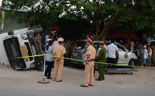 Hiện trường vụ tai nạn thảm khốc làm 3 người trong gia đình chết thảm