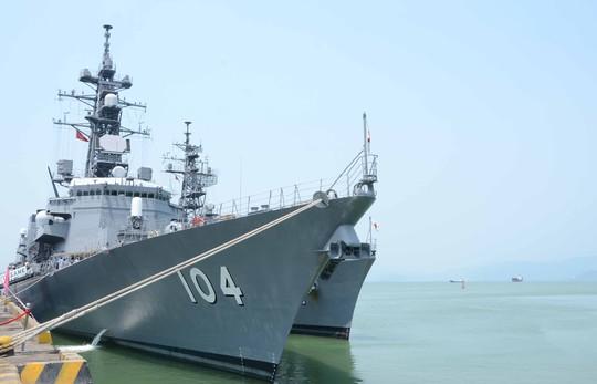 Tàu JS Kirisame mang theo 165 thuỷ thủ đoàn