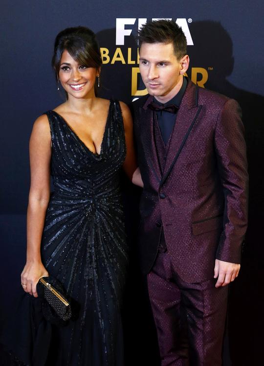 Messi và bạn gái