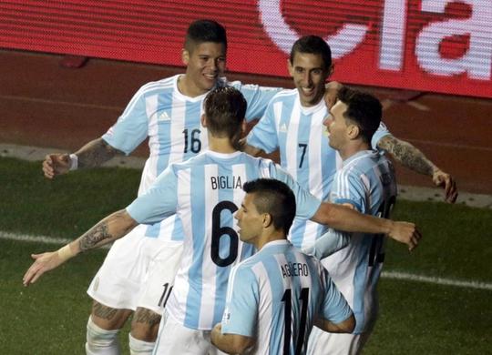 Argentina trở lại với vị trí số 1 thế giới sau 7 năm