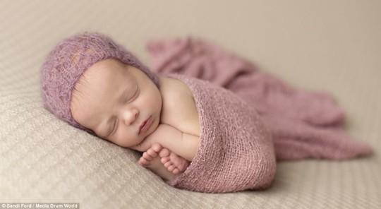 Ngất ngây với những bức ảnh bé ngủ siêu dễ thương