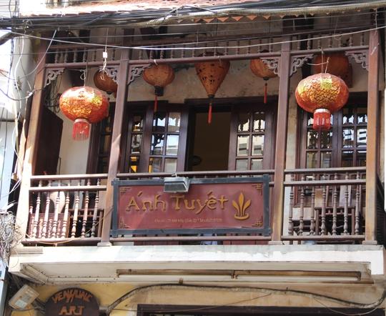 Nhà hàng số 25 Mã Mây mang phong cách thuần Việt và ấm cúng