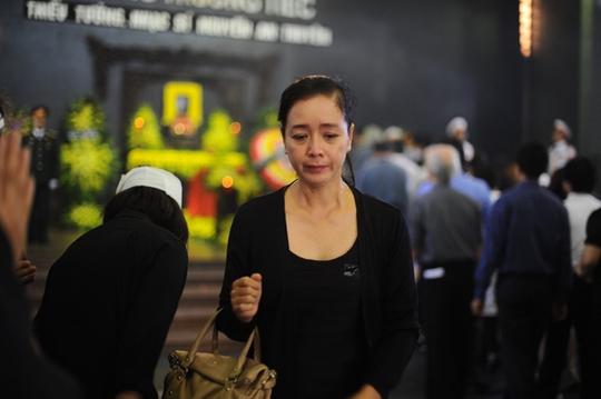 Diễn viên Chiều Xuân đau buồn trước sự ra đi của nhạc sĩ
