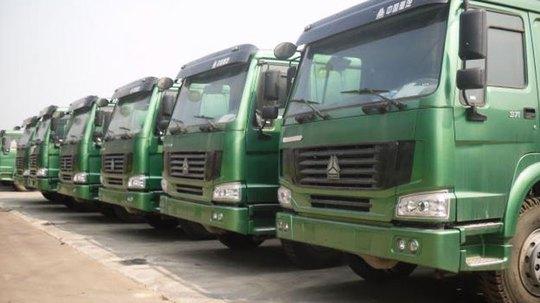 Xe ô tô nhập khẩu từ Trung Quốc chủ yếu là xe tải nặng. Ảnh: Autodaily