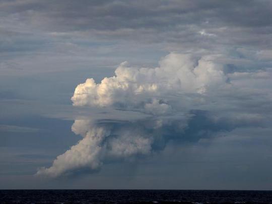 Đám mây bụi mù dự kiến sẽ tan vào cuối ngày 13-1. Ảnh: Radio Australia