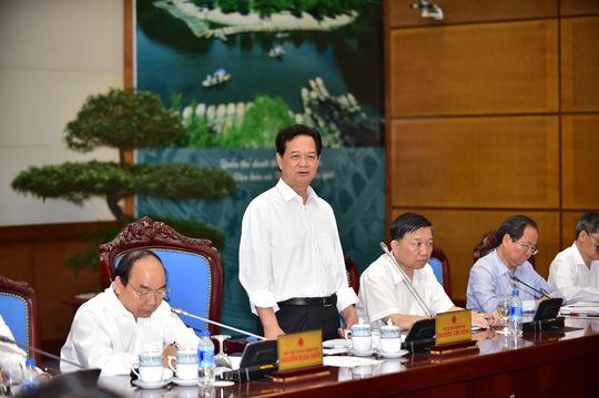 Thủ tướng Nguyễn Tấn Dũng chủ trì cuộc họp BCĐ quốc gia Chống buôn lậu