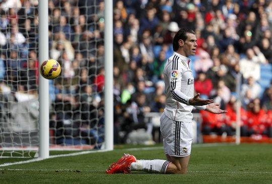 Gareth Bale không được các CĐV Real Madrid bởi phong độ thất thường.