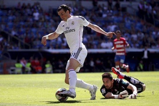 Bale chỉ ghi 1 bàn nhưng đó là pha mở tỉ số rất quan trọng ở phút 25