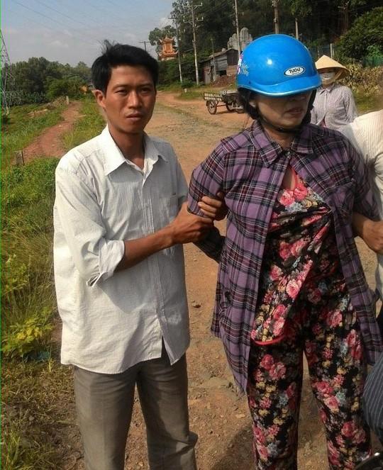Vũ Thị Toản bị bắt quả tang khi bán ma túy cho con nghiện vào trưa 6-7.
