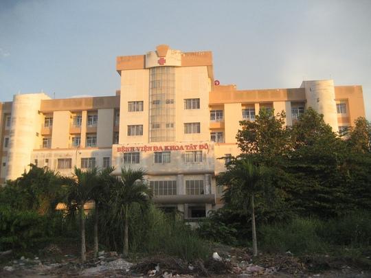 Do tranh chấp kéo dài, Bệnh viện Đa khoa Tây Đô đã ngưng hoạt động