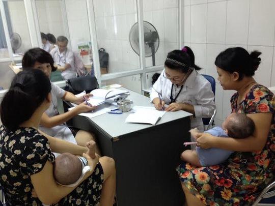 Tiêm chủng cho trẻ tại Hà NộiẢnh: Ngọc Dung