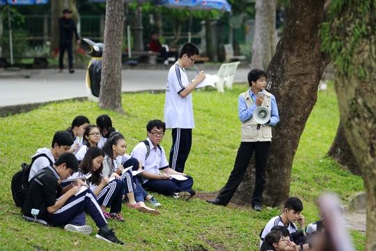 Tổ chức những buổi học ngoại khóa để học sinh gần gũi với nhauẢnh: Hoàng Triều