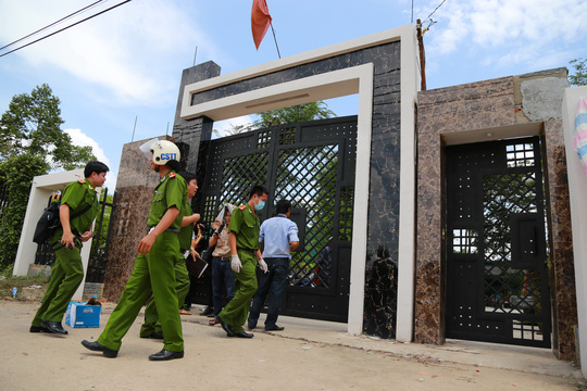 Cảnh sát điều tra vụ giết người gây rúng động xã hội tại Bình PhướcẢnh: Như Phú