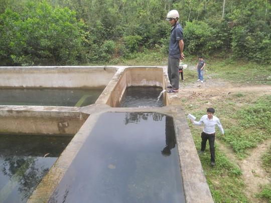 """Công trình nước sạch ở xã An Ninh, huyện Quảng Ninh """"đắp chiếu"""" từ nhiều năm nay"""