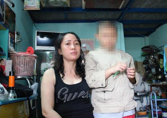 Bà Lê Thị Ngọc Diệp cho rằng nếu bà đến trễ thì con trai đã bị bắt cóc