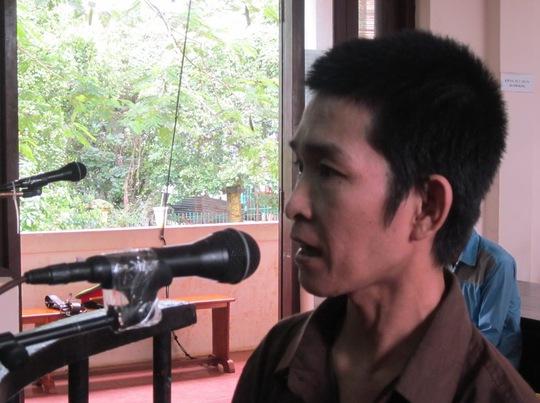 Bị cáo Trần Ngọc Lợi tại phiên sơ thẩm ngày 15-7