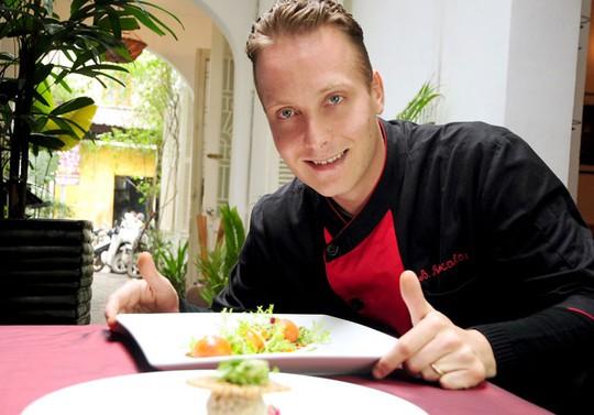 Đầu bếp Benjamin Rascalou, nhà hàng La Badiane