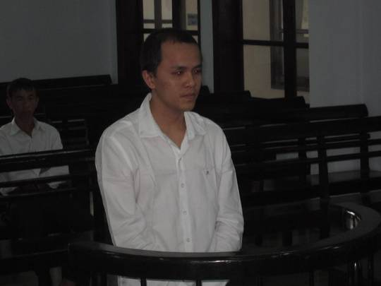 Bị cáo Dương Hoàng Tỉnh tại phiên tòa ngày 7-1