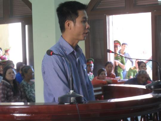 Bị cáo Đỗ Như Huy thừa nhận việc đánh Kiều là sai, phạm luật