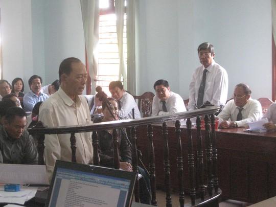Bị cáo Nguyễn Hoàng Quân nghe tòa tuyên án