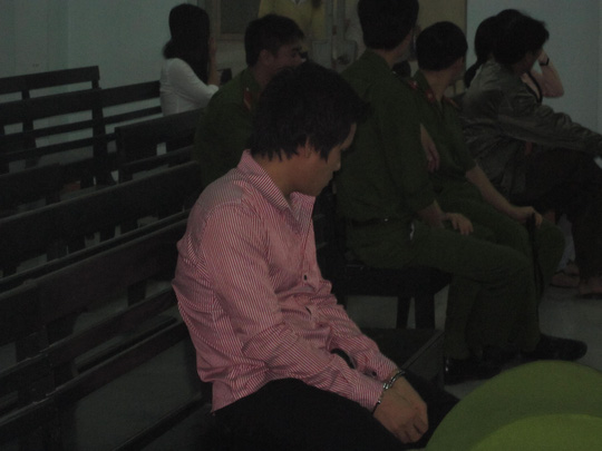 Bị cáo Nguyễn Thành Phương bị 13 năm tù sau 1 đêm sung sướng.