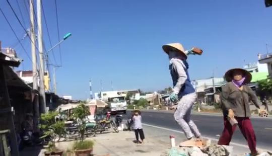 Bị can Nguyễn Thị Liên dùng gạch tấn công người nhà của bà Lén ngay trước ngày bị tạm giam