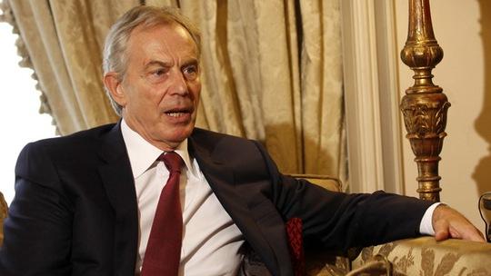 Cựu Thủ tướng Anh Tony Blair. Ảnh: Reuters