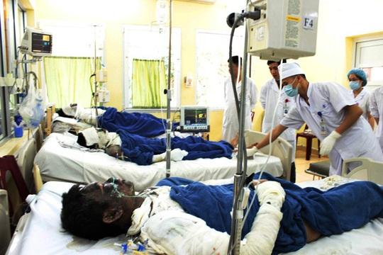 6 bệnh nhân bỏng nặng nhập viện Việt Nam - Thụy Điển một cách đầy bí ẩn