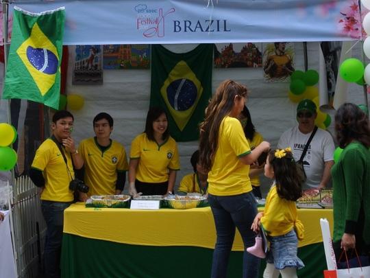 Brazil với sắc vàng xanh đặc trưng