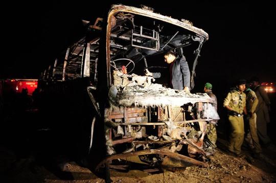Hiện trường vụ tai nạn thảm khốc. Ảnh: CFP