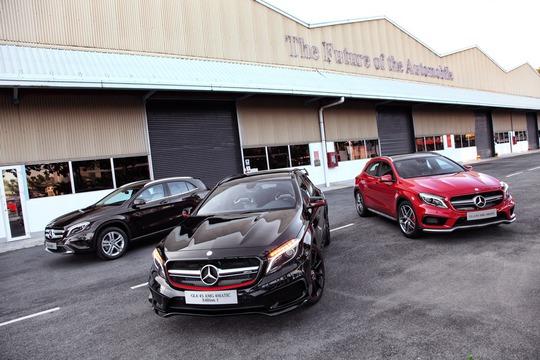Các dòng xe cỡ nhỏ đã đóng góp đáng kể vào thành công của Mercedes-Benz trong năm 2014