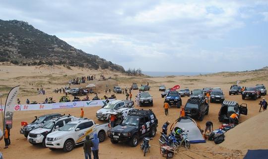 Cuộc thi thu hút đông đảo vận động viên với nhiều phương tiện hiện đại tham gia