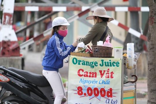 Nước cam cũng được nhiều chị em phụ nữa lựa chọn