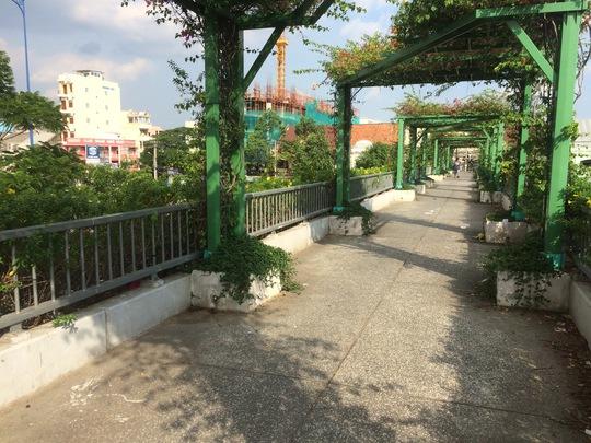 Lối đi trên cầu vượt