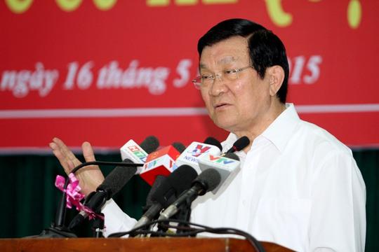 Chủ tịch nước Trương Tấn Sang khẳng định cán bộ đất và đô la là có thật