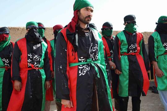 Nhóm nổi dậy Margh (Thần chết) mới hình thành ở Afghanistan thề liều chết chống lại IS Ảnh: WP