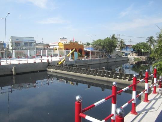 TP HCM: Ngăn triều giúp 18.000 hộ dân thoát ngập