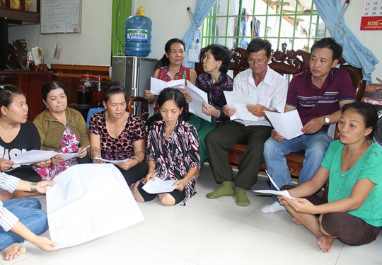 Người dân ở phường 5, quận Gò Vấp, TP HCM chưa biết đi đâu sau khi bị cưỡng chế nhà, đất đã mua