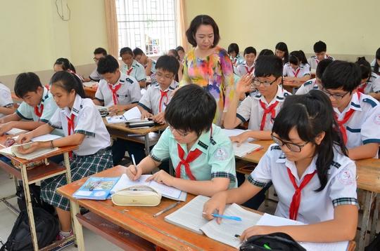 Học sinh lớp 9 Trường THPT Lý Phong, quận 5, TP HCM ôn thi Ảnh: TẤN THẠNH