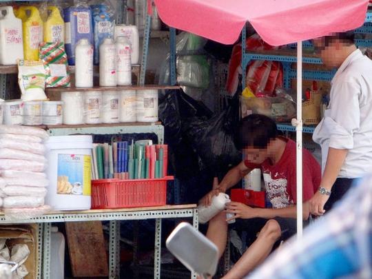 Chợ Kim Biên được xem là một trong những địa điểm có nguy cơ cháy nổ cao ở TP HCM