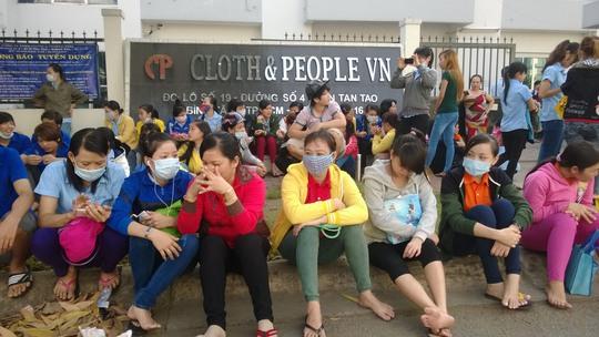 Công nhân Công ty Cloth & People Vina phản ứng vì bị ép tăng ca quá sức