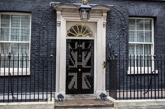 Hình bóng nghệ thuật của lá cờ Vương quốc Anh