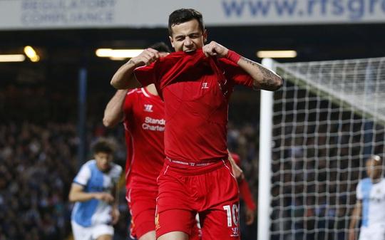 Người hùng Coutinho đưa Liverpool vào bán kết Cúp FA