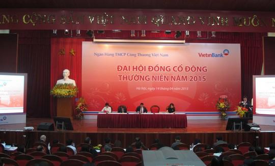Đại hội đồng cổ đông 2015 của Ngân hàng ViettinBank