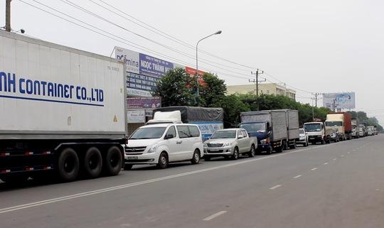 Vụ việc làm giao thông trên đường DT 743 bị ùn tắc kéo dài
