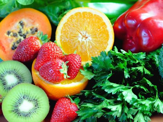 Kết quả hình ảnh cho Trái cây giàu vitamin c