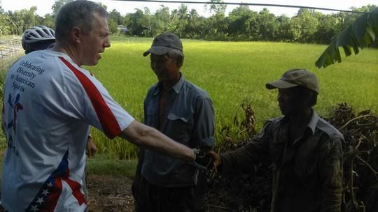 Gặp gỡ nông dân trồng lúa